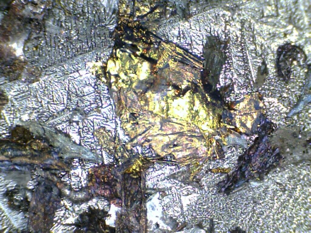 Crystallised Metal