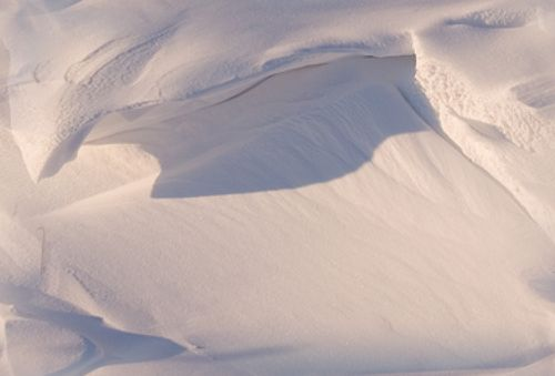 Snow Drift Repeating Seamless Background Tile