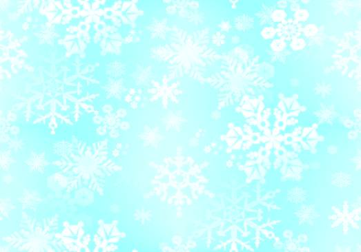 Snowflakes Turquoise Paper Repeating Seamless Background