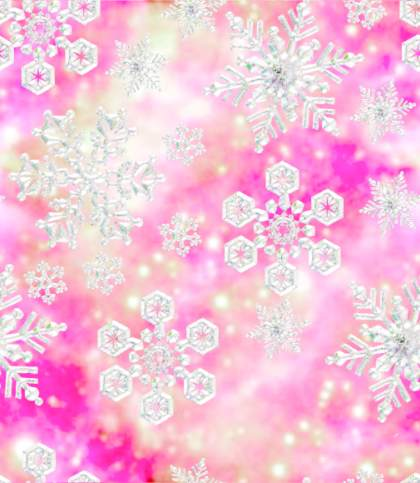 Background Pictures on Snowflakes Fairy Princess Pink Seamless Background Tile Image Picture
